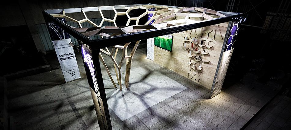Upsilon – Robotic Timber Construction